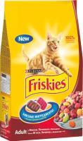 Корм для кошек Friskies С мясом, печенью и овощами (10 кг) -