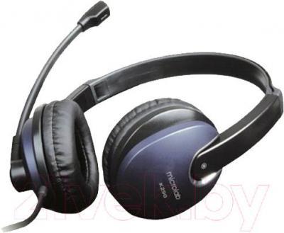 Наушники-гарнитура Microlab K290 (черно-синий)