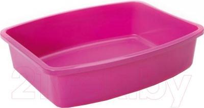 Туалет-лоток Savic Oval tray 02200000 (розовый) - общий вид