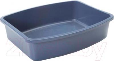 Туалет-лоток Savic Oval tray 02200000 (серый) - общий вид