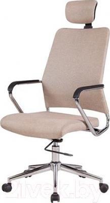 Кресло офисное Halmar Finos (бежевый)