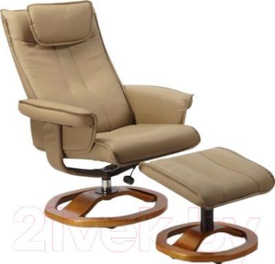 Кресло офисное Halmar Liberty (светло-коричневый)