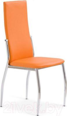 Стул Halmar K3 (оранжевый/хром) - общий вид