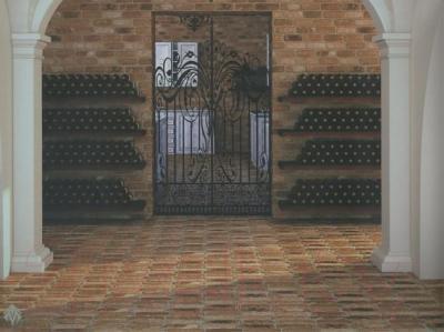 Плитка для стен кухни Monopole Muralla Mezquita (280x75)