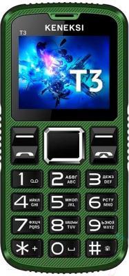 Мобильный телефон Keneksi T3 (зеленый)