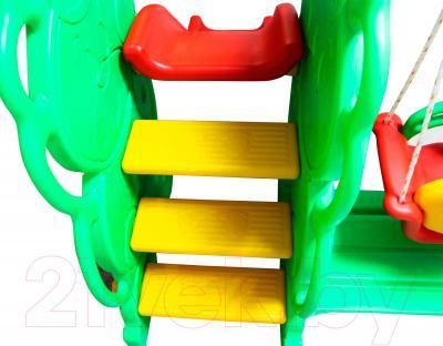 Горка-комплекс Sundays QC-05015 - рифленые ступени лесенки