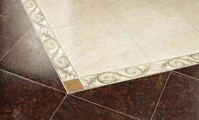 Декоративная  плитка для пола ColiseumGres Калабрия Желтый Рамаж (72x72)