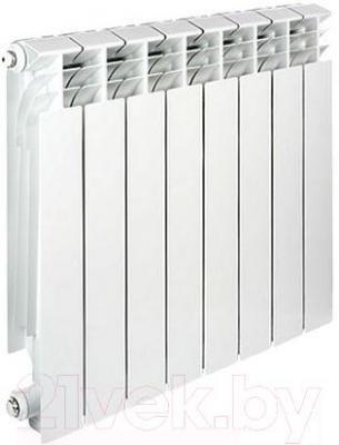 Радиатор алюминиевый Tenrad 500/100 (6 секций)