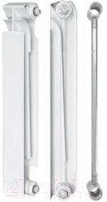 Радиатор биметаллический Tenrad BM 500/80 (4 секции)