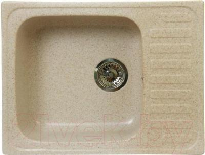 Мойка кухонная Fosto КМ 64-49 (олово)