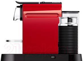 Капсульная кофеварка Krups Citiz&Milk Fire Engine Red XN730510