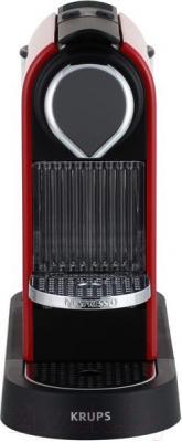 Капсульная кофеварка Krups Citiz Fire Engine Red XN720510