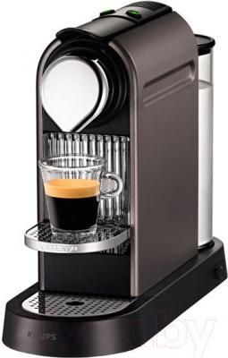 Капсульная кофеварка Krups Nespresso Citiz Titanium XN720T10