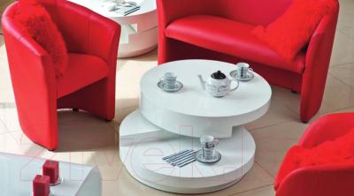 Журнальный столик Signal Fabiola (белый)