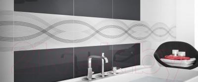 Бордюр для ванной Ceramica Marconi Alaska Lila Lotos (600x70)
