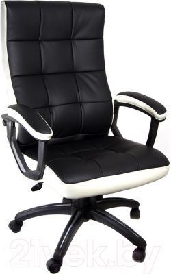 Кресло офисное Деловая обстановка Клия MFT (бело-черный)