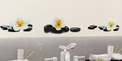 Декоративная плитка для ванной Ceramica Marconi Laguna Azul Spa Right (500x250)