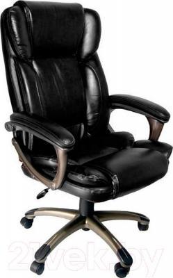 Кресло офисное Деловая обстановка Лагуна Люкс MFT (черный)