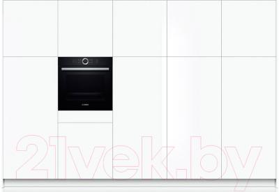 Электрический духовой шкаф Bosch HBG633BB1