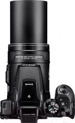 Компактный фотоаппарат Nikon Coolpix P900 (черный)