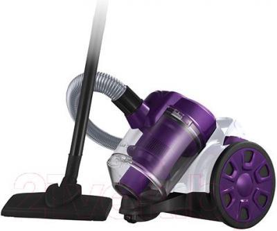 Пылесос Home Element HE-VC-1801 (бело-фиолетовый)