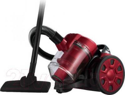 Пылесос Home Element HE-VC-1801 (черно-красный) - общий вид