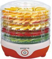 Сушка для овощей и фруктов Polaris PFD 0305 (бело-оранжевый) -
