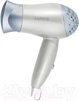 Компактный фен Lumme LU-1029 (белый жемчуг)