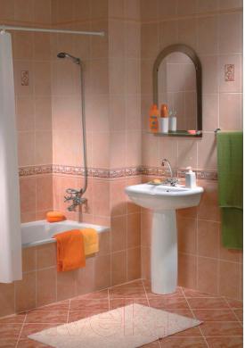 Бордюр для ванной Керамин Афина 3 (200x47)