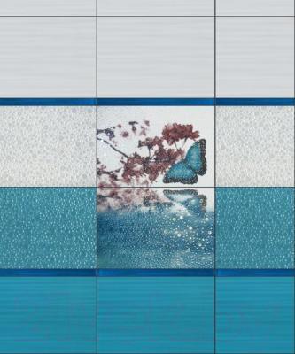 Декоративная плитка Керамин Вэйв тип 2 (400x275)
