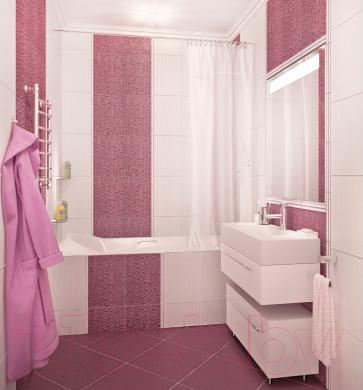 Декоративная плитка для ванной Керамин Вэйв 7 (400x275)