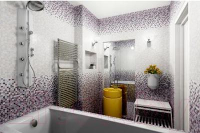 Плитка для стен ванной Керамин Гламур 4т (400x275)