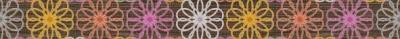 Бордюр для ванной Керамин Дария 4 (500x47)