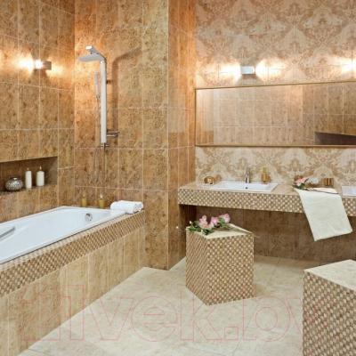Декоративная плитка для ванной Керамин Делюкс 3/1 (400x275)