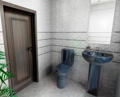 Бордюр для ванной Керамин Аура 3 (500x47)