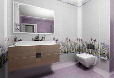 Декоративная плитка для ванной Керамин Ирис 2 (500x200)