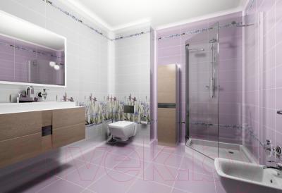 Декоративная плитка для ванной Керамин Ирис 3 (500x200)