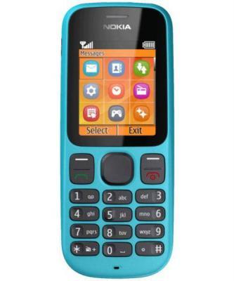 Мобильный телефон Nokia 100 Ocean Blue - спереди