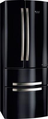 Холодильник с морозильником Hotpoint 4D B - вид спереди
