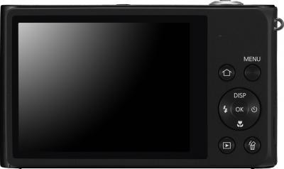 Компактный фотоаппарат Samsung ST200F (EC-ST200FBPBRU) Black - вид сзади