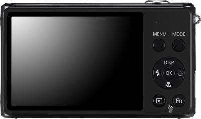 Компактный фотоаппарат Samsung ST76 (EC-ST76ZZFPBRU) Black - вид сзади