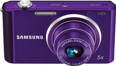Компактный фотоаппарат Samsung ST76 (EC-ST76ZZFPLRU) Purple - общий вид