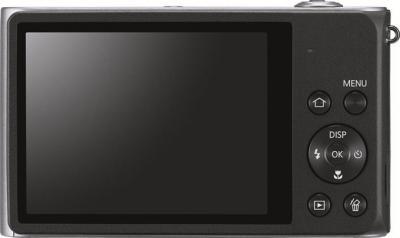 Компактный фотоаппарат Samsung ST200 (EC-ST200FBPSRU) Silver - Вид сзади