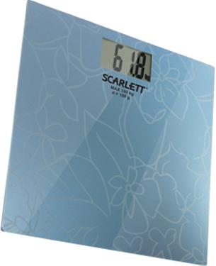 Напольные весы электронные Scarlett SC-218 (Blue) - общий вид
