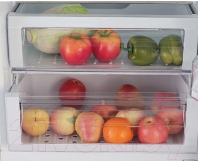 Холодильник с морозильником Samsung RL55TEBVB1
