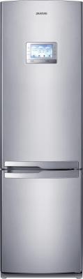 Холодильник с морозильником Samsung RL55TQBRS1 - вид спереди