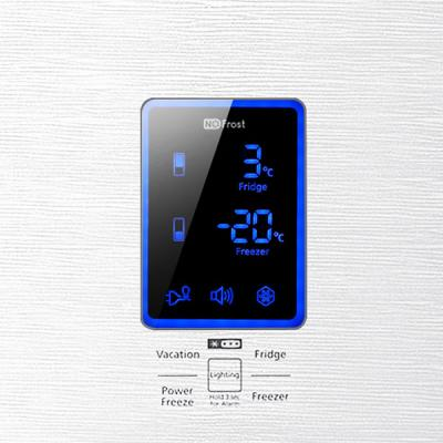 Холодильник с морозильником Samsung RL55TTE1L1 - дисплей