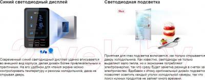 Холодильник с морозильником Samsung RL55TTE1L1
