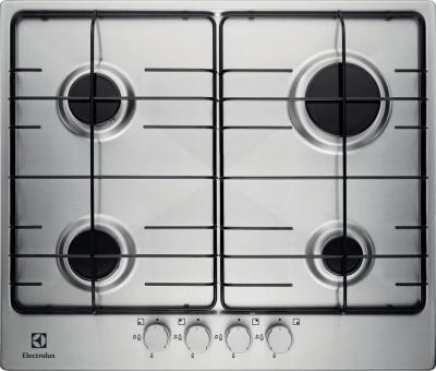 Газовая варочная панель Electrolux EGG6242NOX - общий вид
