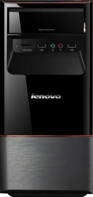Готовое рабочее место Lenovo Системный блок H420+Монитор D186+Клавиатура+Мышь - системный блок, вид спереди